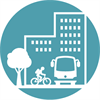 HiAP icon for active transportation